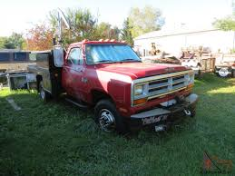 dodge one ton trucks for sale dodge 1 ton flatbed 1989 dodge diesel 4x4 1 ton dually 5 spd