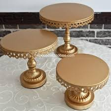 metal cake stand 2018 gold metal cake stand iron and cake dispaly tray wedding