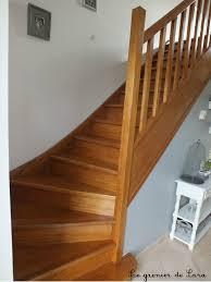 escalier peint 2 couleurs escalier broc et patine le grenier de sara