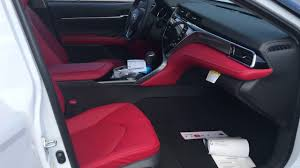 land wind interior 2018 toyota camry xse with red leather interior youtube