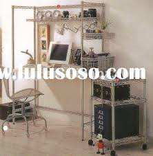 Wire Shelving Desk Diy Structure Wire Computer Desk For Sale Price China