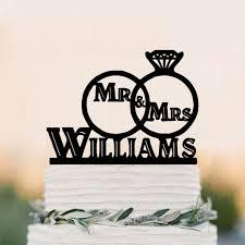 ring cake topper aliexpress buy wedding cake topper of a wedding ring set
