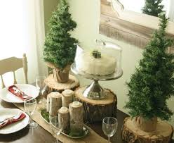 Winter Table Decoration ideas with white accents