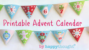 how to make an advent calendar printable christmas paper craft