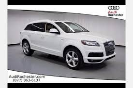 audi dealership rochester ny used audi q7 for sale in rochester ny edmunds