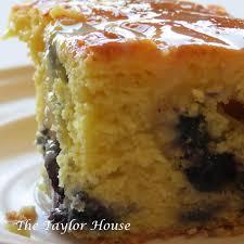 french vanilla lemon blueberry pound cake the taylor house