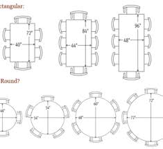 8 person table dimensions pin by blue envelope designs llc on dining table sizes pinterest