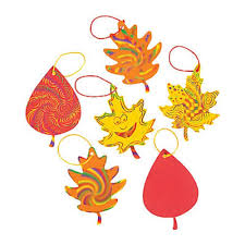 amazon com colorful magic color scratch fall leaves crafts for