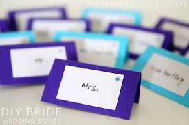 diy wedding place cards diy series wedding place cards for 3c each