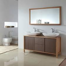 Oak Framed Bathroom Mirrors Remarkable Contemporary Vanity Mirrors For Bathroom Inside Custom