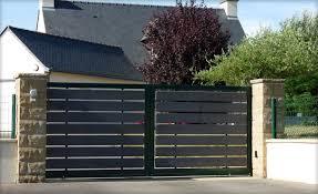 portails de jardin portail jardin sur mesure portail plein pvc sfrcegetel