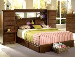 Bookcase Platform Storage Bed Bookcase Mesmerizing Diy Bookcase Headboard Plans Queen Beds