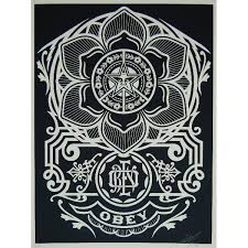 obey peace ornament ftigallery