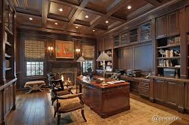Regency Office Furniture by Traditional Home Office With Box Ceiling U0026 Crown Molding In