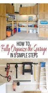 Garage Storage And Organization - garage organization in 5 simple steps craving some creativity