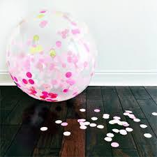 jumbo balloons jumbo confetti balloon lulu pinks gold shop sweet lulu