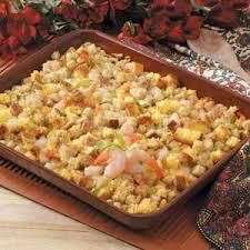 shrimp corn bread dressing recipe taste of home