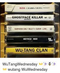 Wu Tang Meme - rza asbgbby digittfl ghostface killah et 67729 ironman raekwononly