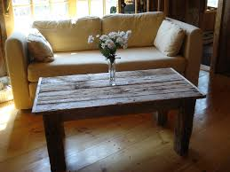 Table Centerpieces For Home by Old Diy Driftwood Finish Coffee Table With Flower Centerpieces For