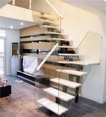 Glass Banisters For Stairs Glass Wood Stairs Glass Wood Stairs Suppliers And Manufacturers