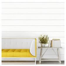 peel and stick wallpaper devine color textured shiplap peel stick wallpaper ultra white
