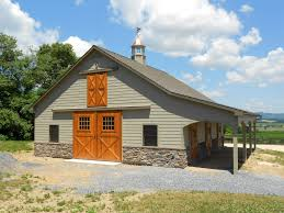 Barn Designs For Horses Custom Pleasure Barn Precise Buildings