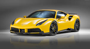 ferrari 488 wallpaper wallpaper novitec rosso ferrari 488 gtb supercar yellow speed