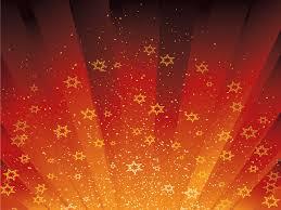 stars are dancing ppt backgrounds design love orange
