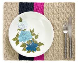 knitted placemats for your kitchen table craftsy