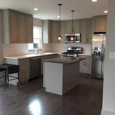 located in northeast ohio grey wash kitchen home design ideas grey