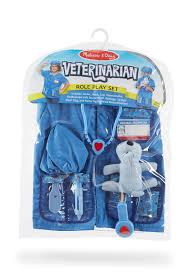 amazon com melissa u0026 doug veterinarian role play costume dress up