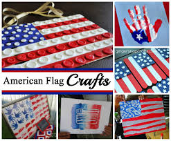 Flag Ideas American Flag Crafts For July 4th Celebrating Holidays