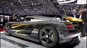 koenigsegg gold koenigsegg agera s hundra with 24 carate gold at geneva motorshow