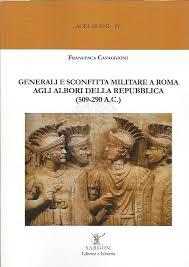 libreria militare roma generali e sconfitta militare a roma agli albori della repubblica