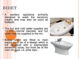 What Is The Meaning Of Bidet Topik 1 Sanitary Appliances