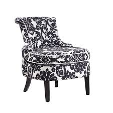 ideal black and white accent chairs for home decoration ideas with