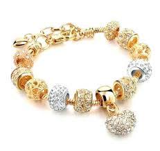 bracelet pandora gold images Pandora gold charm bracelet pandora jewelry charm bracelets jpg