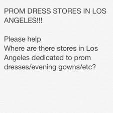 prom dress stores in los angeles on the hunt