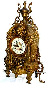 Mantel Clocks Antique Antique Clocks Antique 19th Century French Bronze Mantel Clock