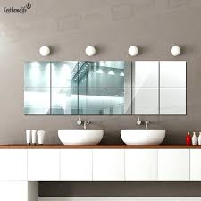 Large Wall Stickers For Living Room by Decorative Wall Mirror Stickers India Wall Decor Mirror Stickers