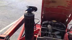 starting the kubota diesel without glowplugs youtube