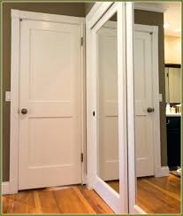 Lowes Folding Closet Doors Wardrobes Wonderful Folding Closet Doors Bi Mirrored Bifold