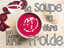 defi cuisine défi cuisine ta soupe va être froide