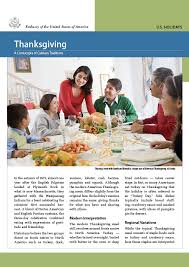 thanksgiving a cornucopia of culinary traditions u s embassy
