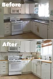 How To Install Kitchen Backsplash Backsplashbeforeaftercollage Kitchen Pinterest Kitchens