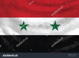 Poly Flag Low Poly Flag Syria Stock Vector 333569090 Shutterstock