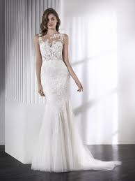 leone romantic sleeveless mermaid wedding dress st patrick