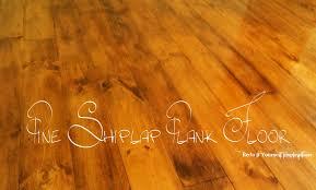 Laminate Floor T Molding Pine Plank Floor Redo It Yourself Inspirations Pine Plank Floor
