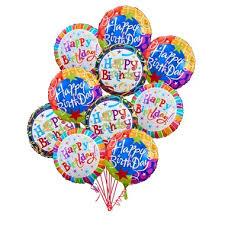 birthday balloon bouquet happy birthday balloon bouquet 1 800 flowers flowerama cedar