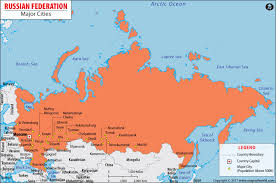 moscow russia map maps page